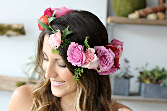 Flower-crown-pink