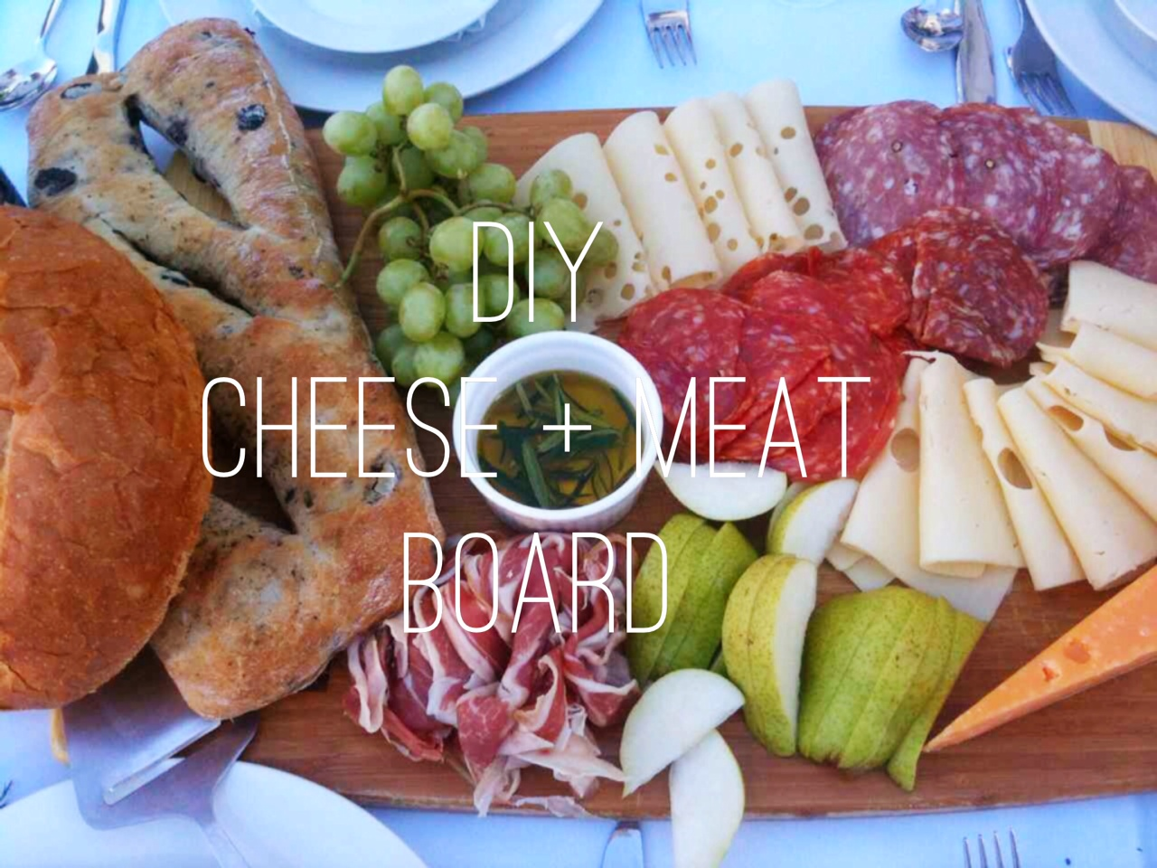 Diy meat and cheese platter this beautiful day diy meat and cheese platter solutioingenieria Image collections