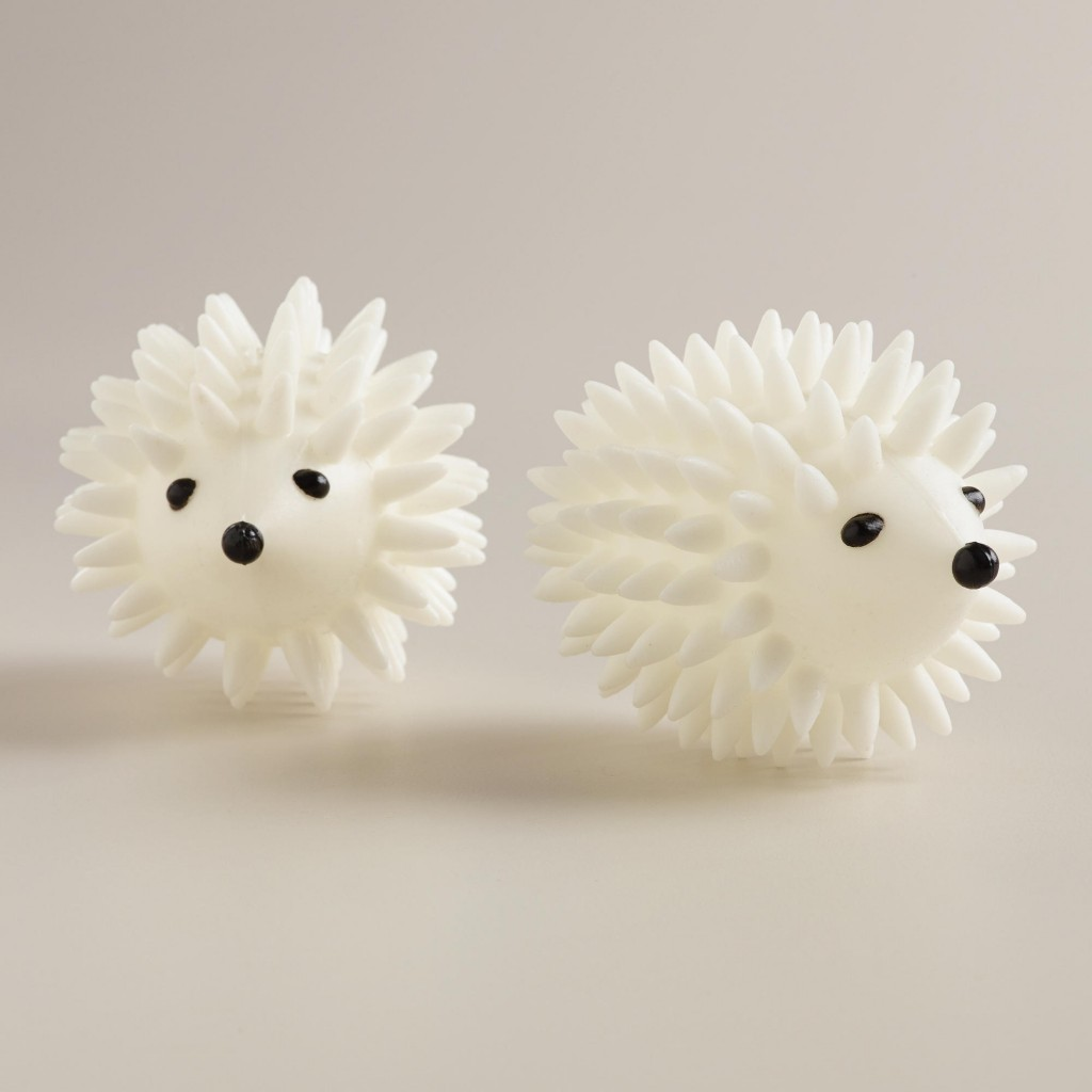 Hedgehog Laundry Dryer Balls
