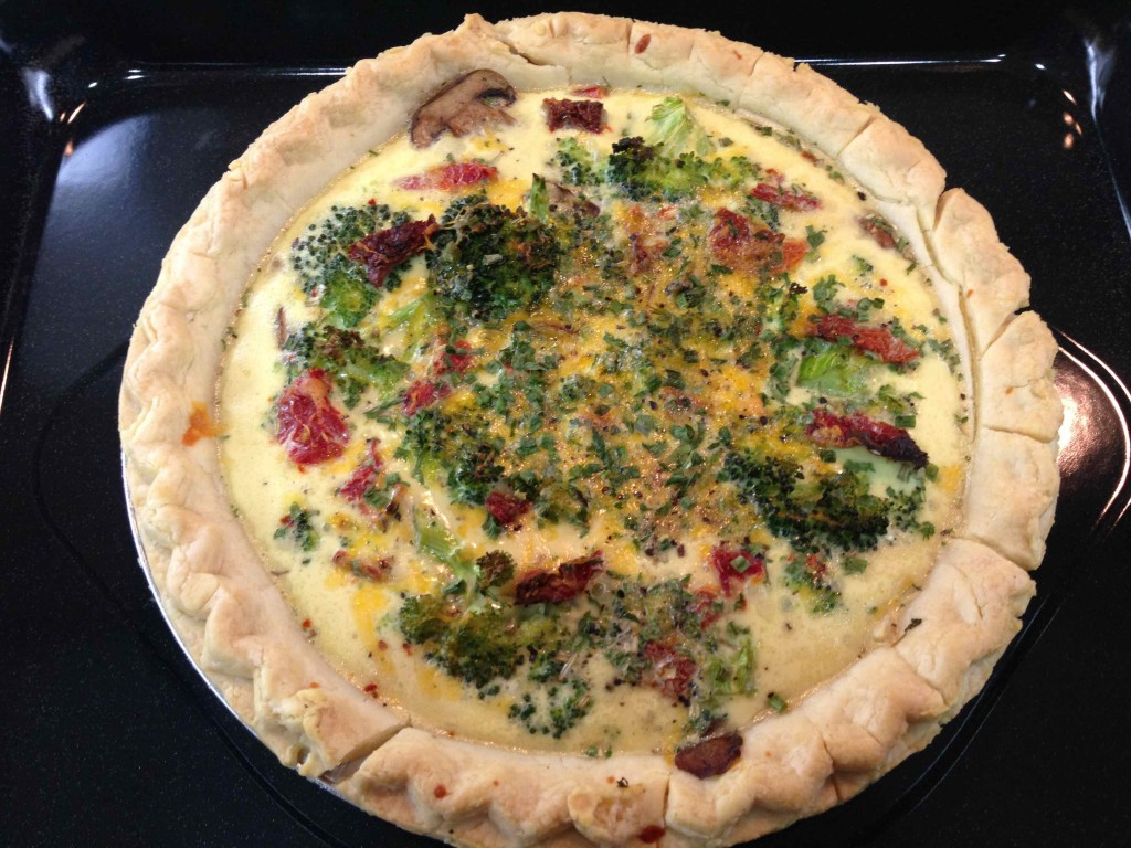 Broccoli-Quiche