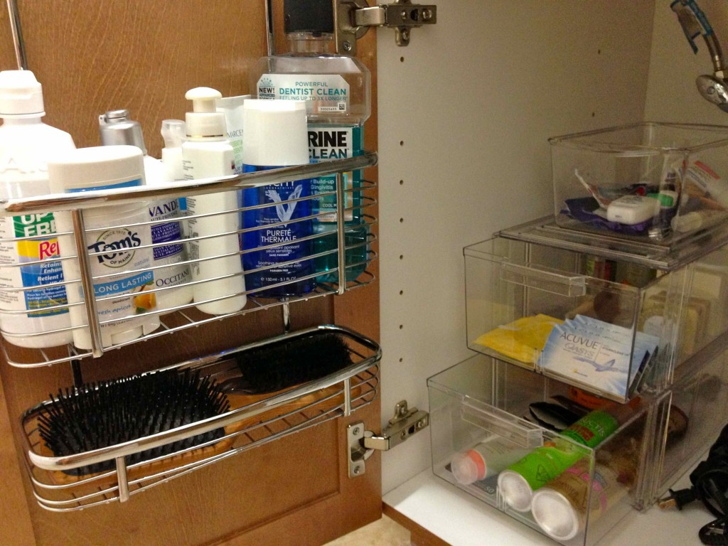 Under bathroom sink organizer for Bathroom organizers