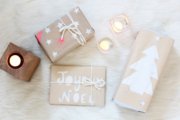 DIY your own Christmas Wrap - Photo Credit