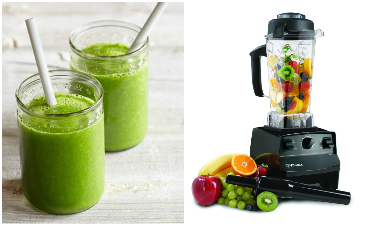 vitamix blender green smoothie. Black Bedroom Furniture Sets. Home Design Ideas