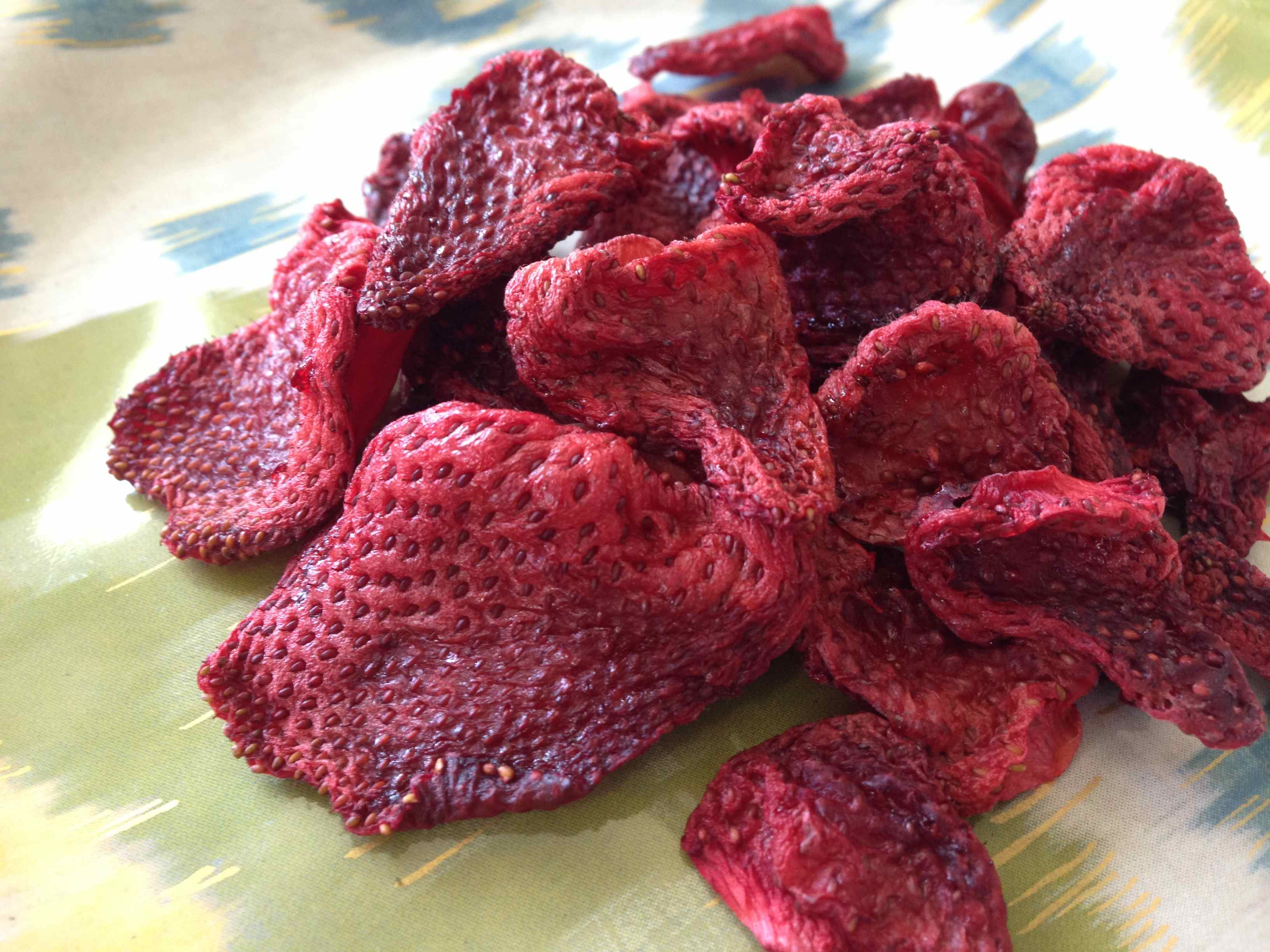 Dried fruit strawberries