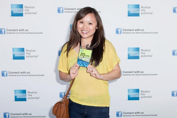 I became an ambassador for American Express because of blogging.