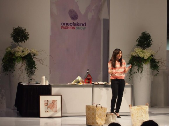 Some of the fun stuff I get to do now as a blogger - speaking at The One of A Kind Show in Toronto