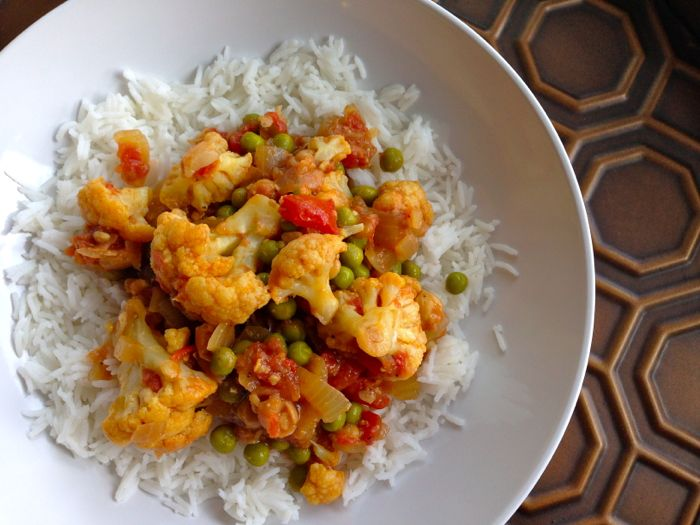 Cauliflower-Curry-Chickpeas