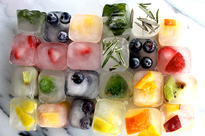 Fruit-Infused-Ice- Cubes-Water