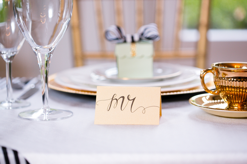 Calligraphy-Placecards