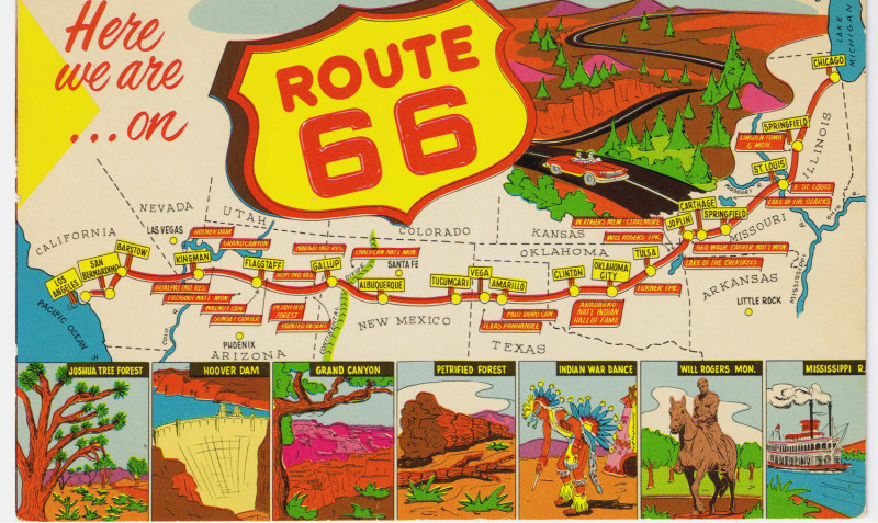 Travel Guide Route 66 Road Trip Part 1 This Beautiful Day – Travel Route 66 Map