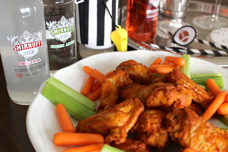 game day recipes chicken wings