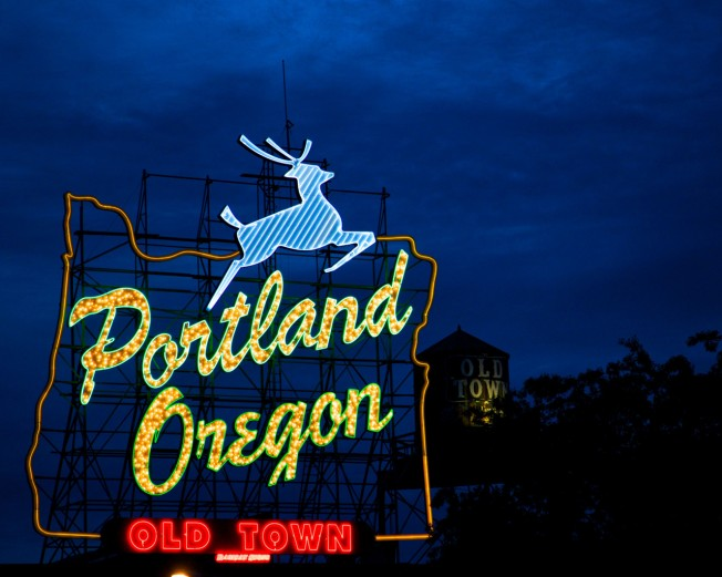 Portland Oregon Sign