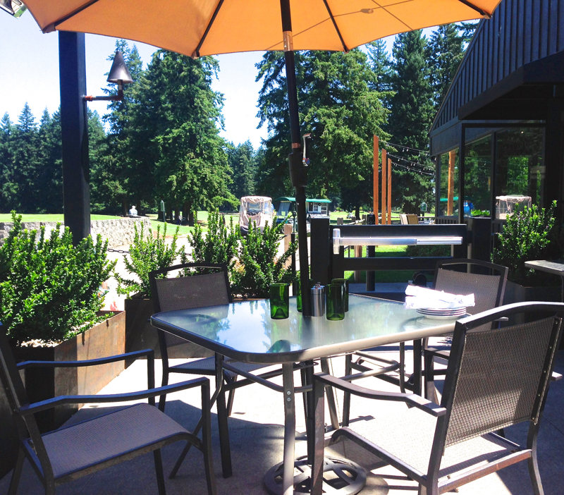 Ringside grill patio for Ringside fish house portland