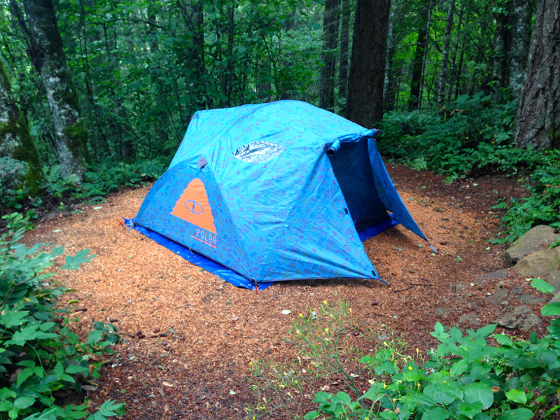 brotanical poler tent