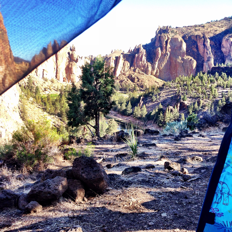 Smith rock camping