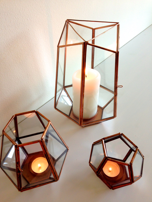 anthropologie hurricane candle holders