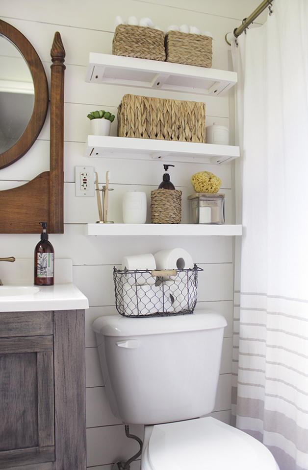 shiplap Beach House Design Ideas  The Powder Room This Beautiful Day