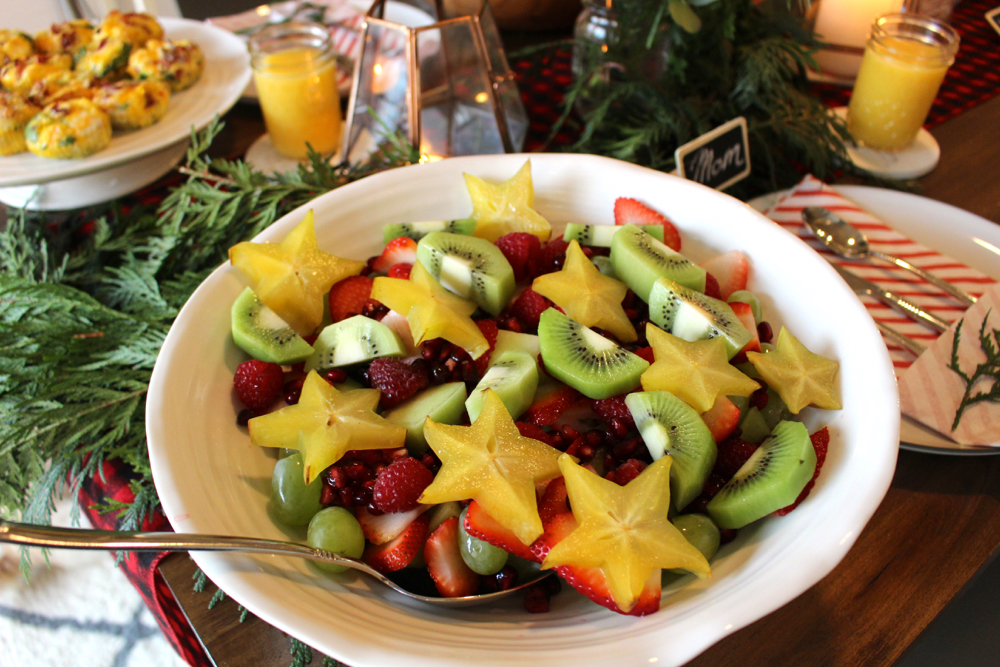 christmas fruit salad recipe