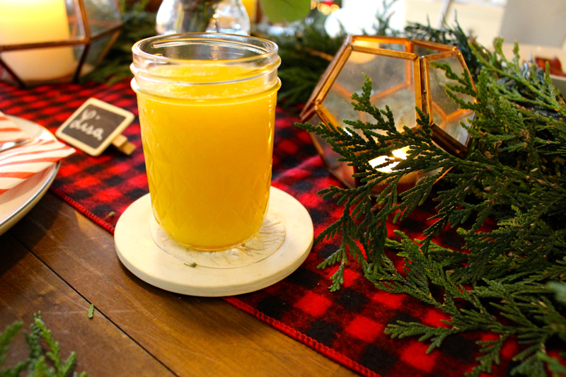 holiday brunch simply orange juice