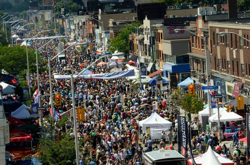 taste of the danforth 2017