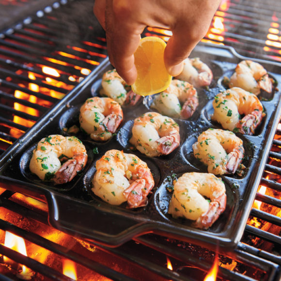 ceramic shrimp pan
