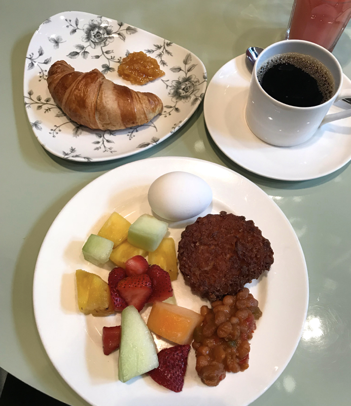 hotel le germain toronto breakfast