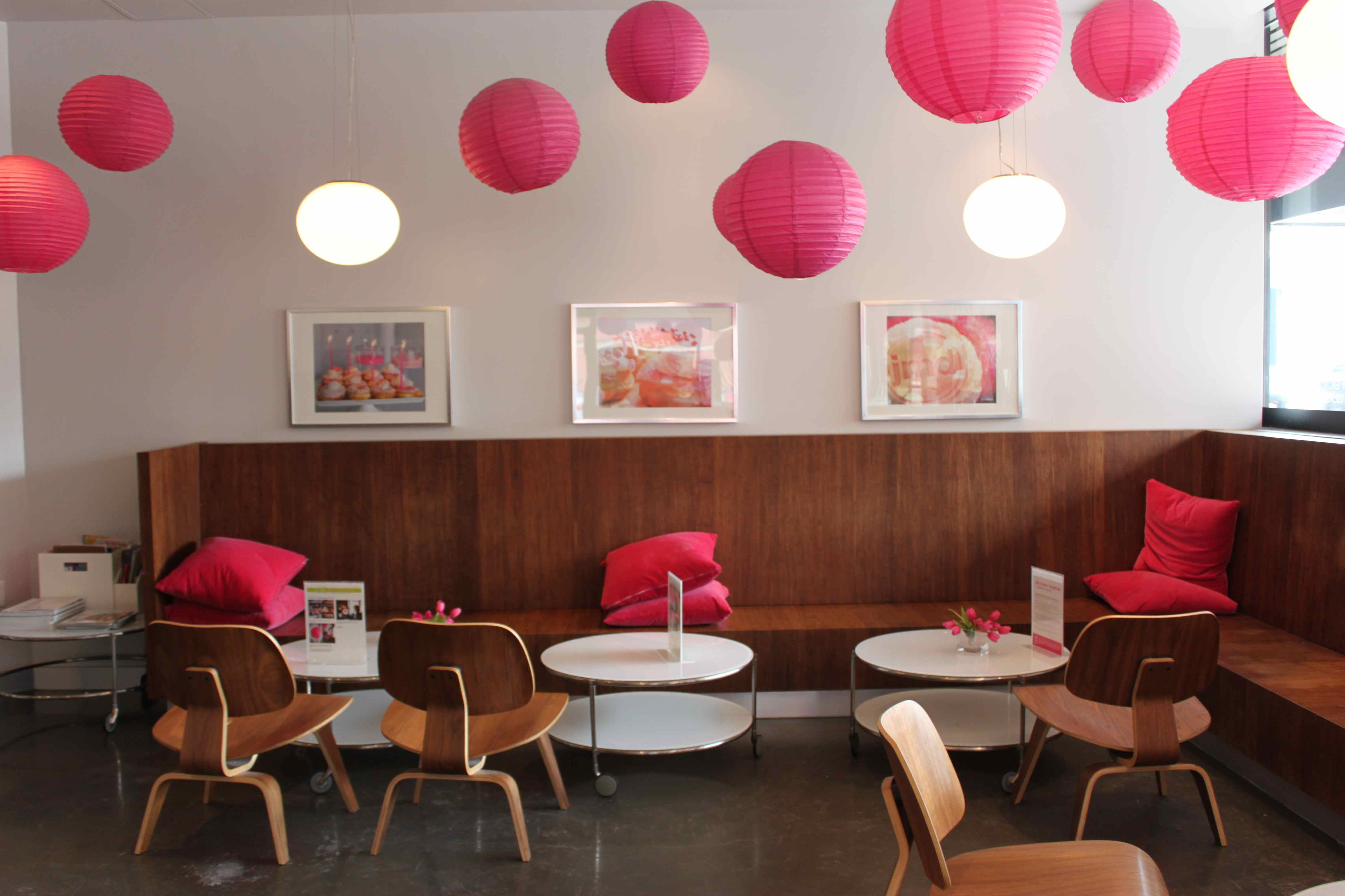 Coffee Shop Pink