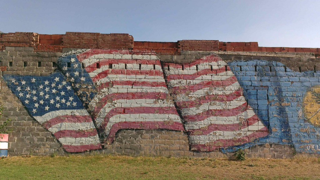 American-Flag-Mural-Route-66