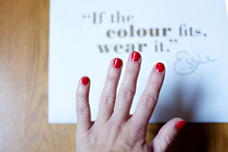 Beauty Review: Essie Gel Nails -
