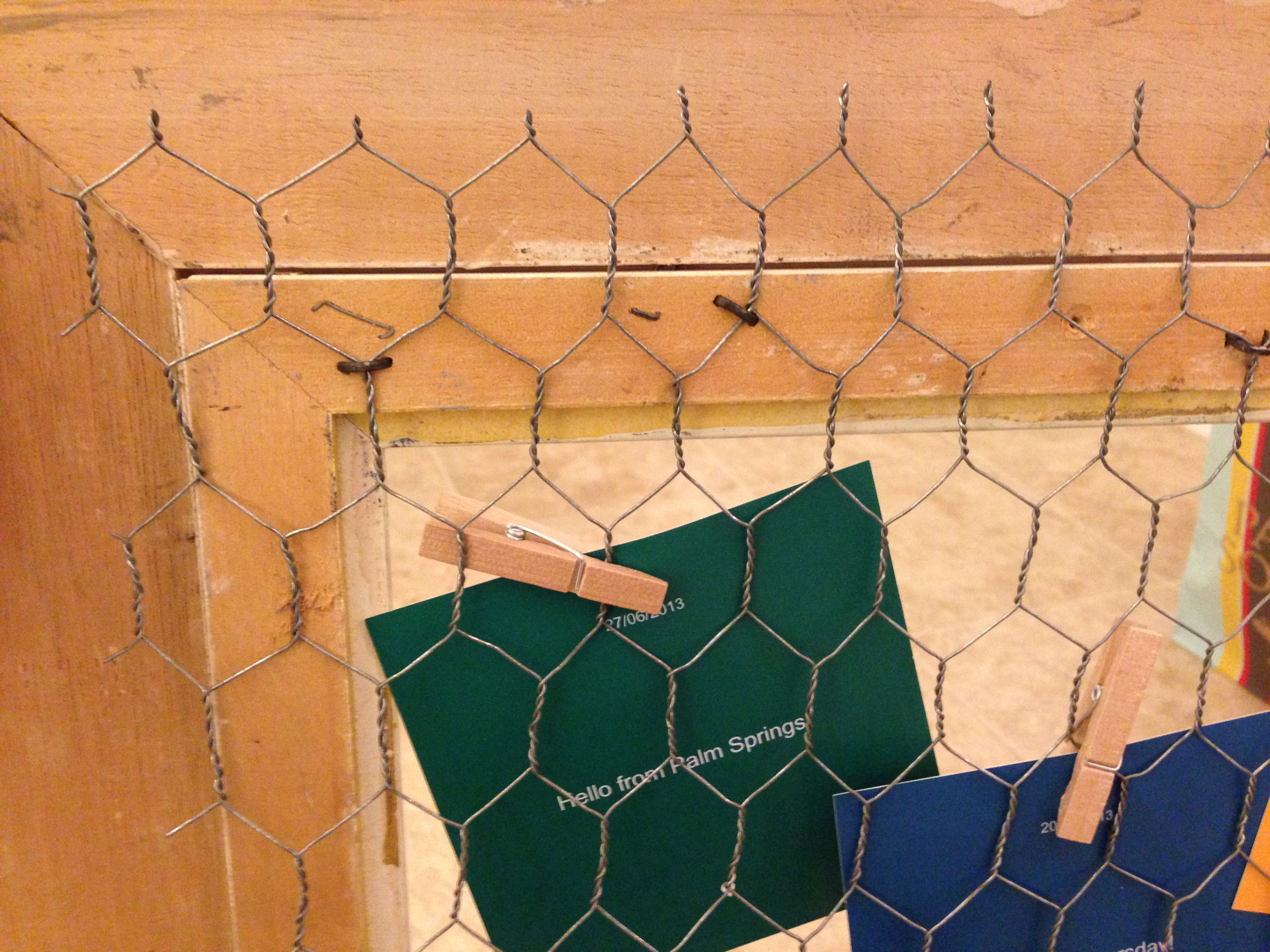 Diy Chicken Coop Picture Frame