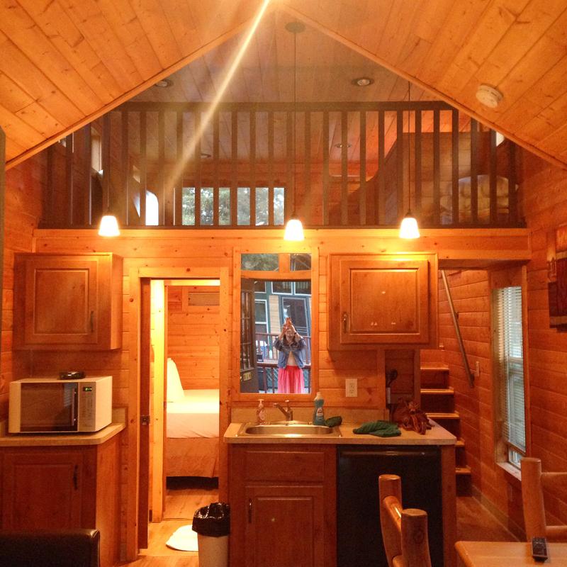 Petaluma-KOA-Loft-Cabin