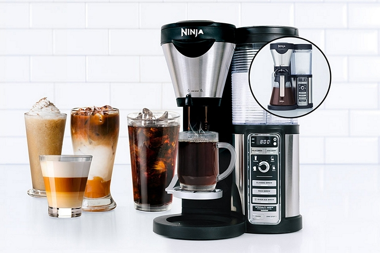 how to clean out an old coffee maker