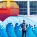 astoria oregon wave mural