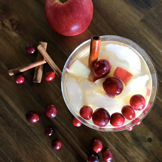 apple boubon ginger cocktail