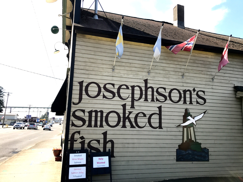 josephson's smoked fish astoria oregon